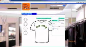 Ronny T Shirt Druck Beschreibung Funktionsweise Konfigurator