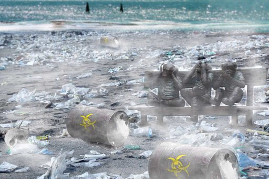 Vom Plastikmüll im Meer zum T Shirt zum Bedrucken