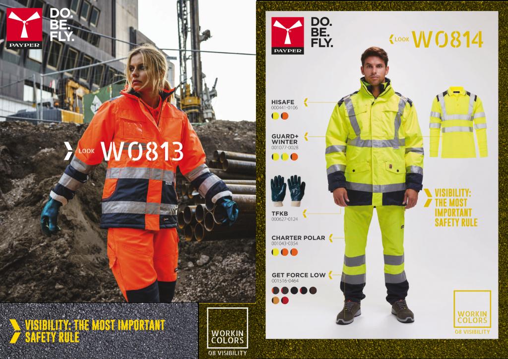 Sicherheitskleidung für Arbeit, Sport und Schule. Diese können Sie auch mit vielen textilen Druckverfahren bedrucken lassen